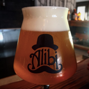 Alibi Ale Works Pale Ale on Nitro