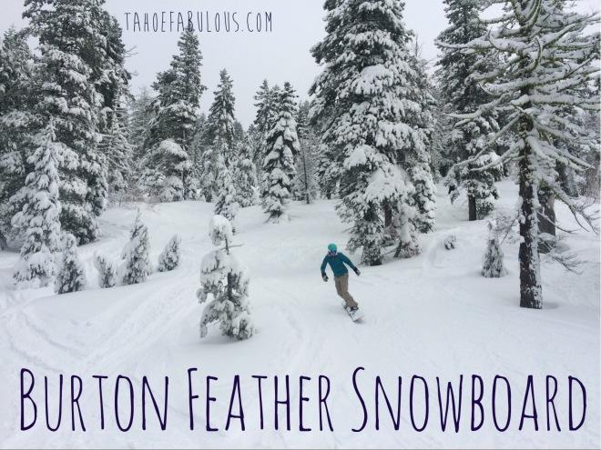 Burton Feather Snowboard Review