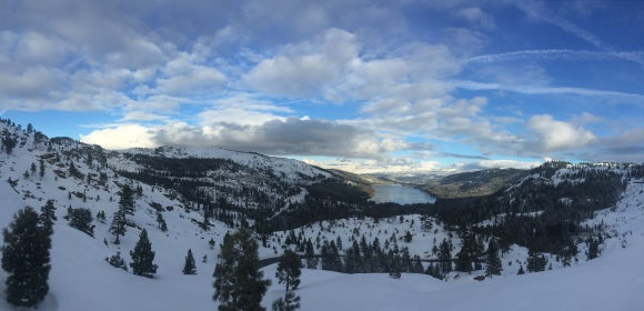 donner lookout panorama