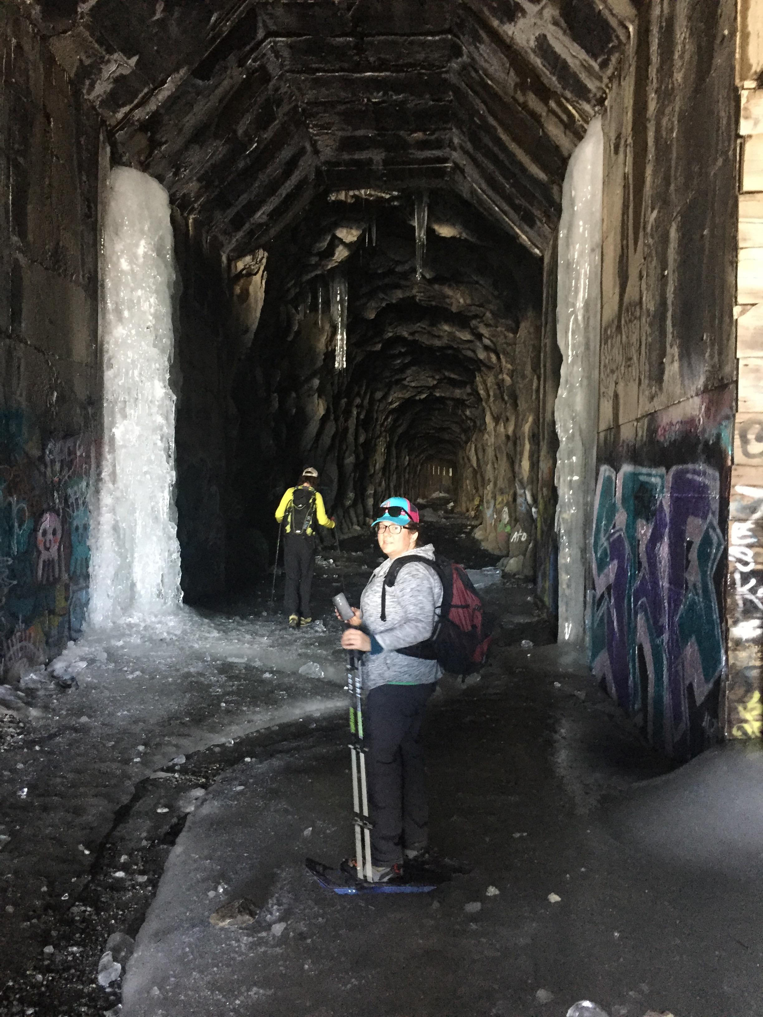 kelly in tunnels